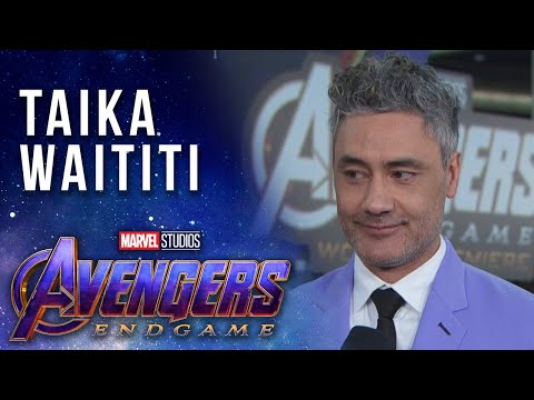 Taika Waititi Brings the Party to the LIVE Avengers: Endgame Premiere