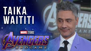 Taika Waititi at the Premiere