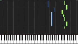 (غول طوكيو) اغنيه البدايه . بيانو