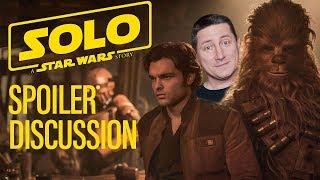 Star Wars Solo - Open Spoiler Discussion