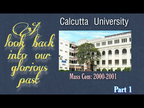 Calcutta University MassCom Students@2000-2001 Part 1
