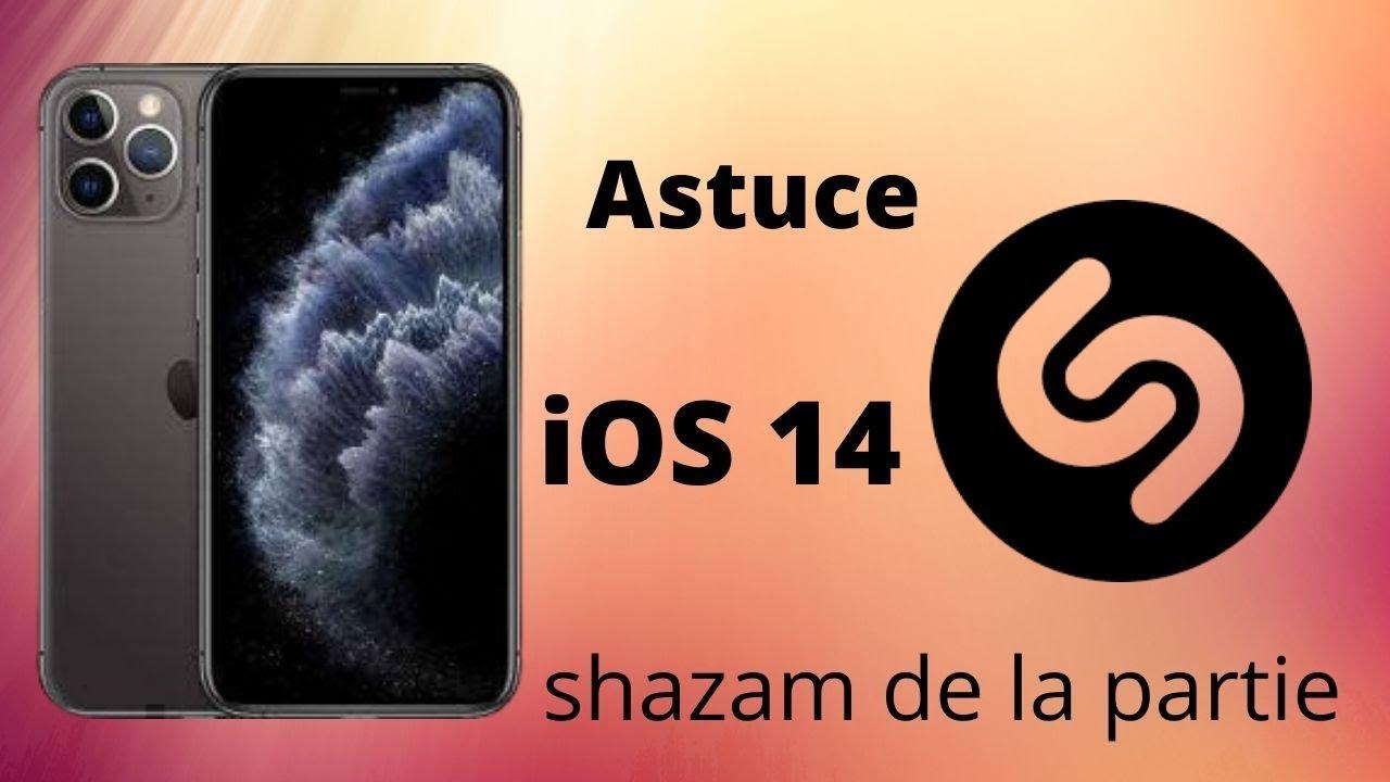 Nouveautés iOS14.2  Bêta 1: Shazam de la partie et people détection