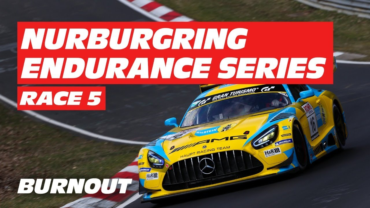 2021 Nurburgring Endurance Championship NLS | ROUND 5 | BURNOUT