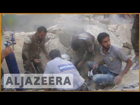 Heavy Russian bombardment kills 56 in Syria's Aleppo