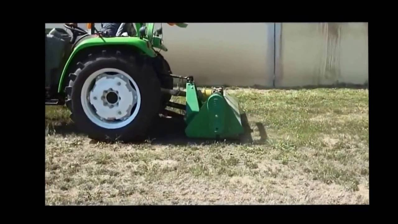 How to use the Heavy duty flail mower EFGC? by FARMER-HELPER MACHINERY