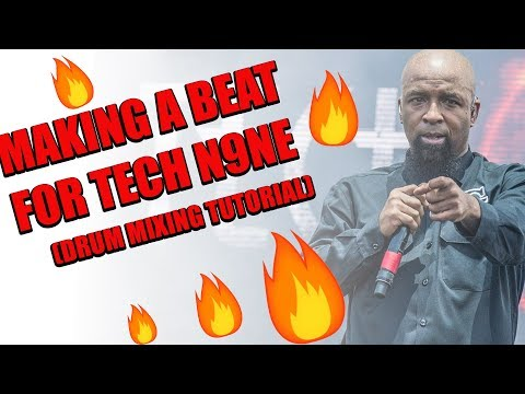 How I Mix My Drums/Making A Beat for Stevie Stone, JL & Tech N9ne
