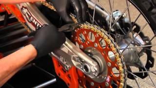 Chain Maintenance KTM Racing Team