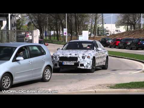 2015 BMW 7-Series spied on the move