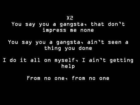 Kat Dahlia- Gangsta- lyrics