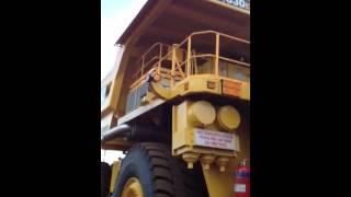 830E dump truck