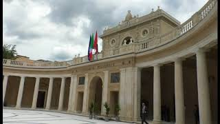 Palazzo dell'Emiciclo torna a splendere