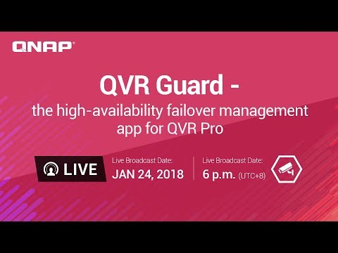QVR Guard - the high-availability failover management app for QVR Pro
