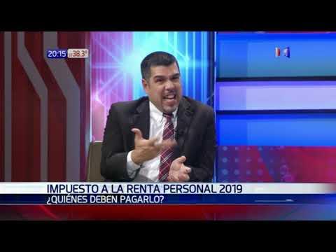 Fabián Domínguez, viceministro de Tributación habló sobre el IRP en La Jornada