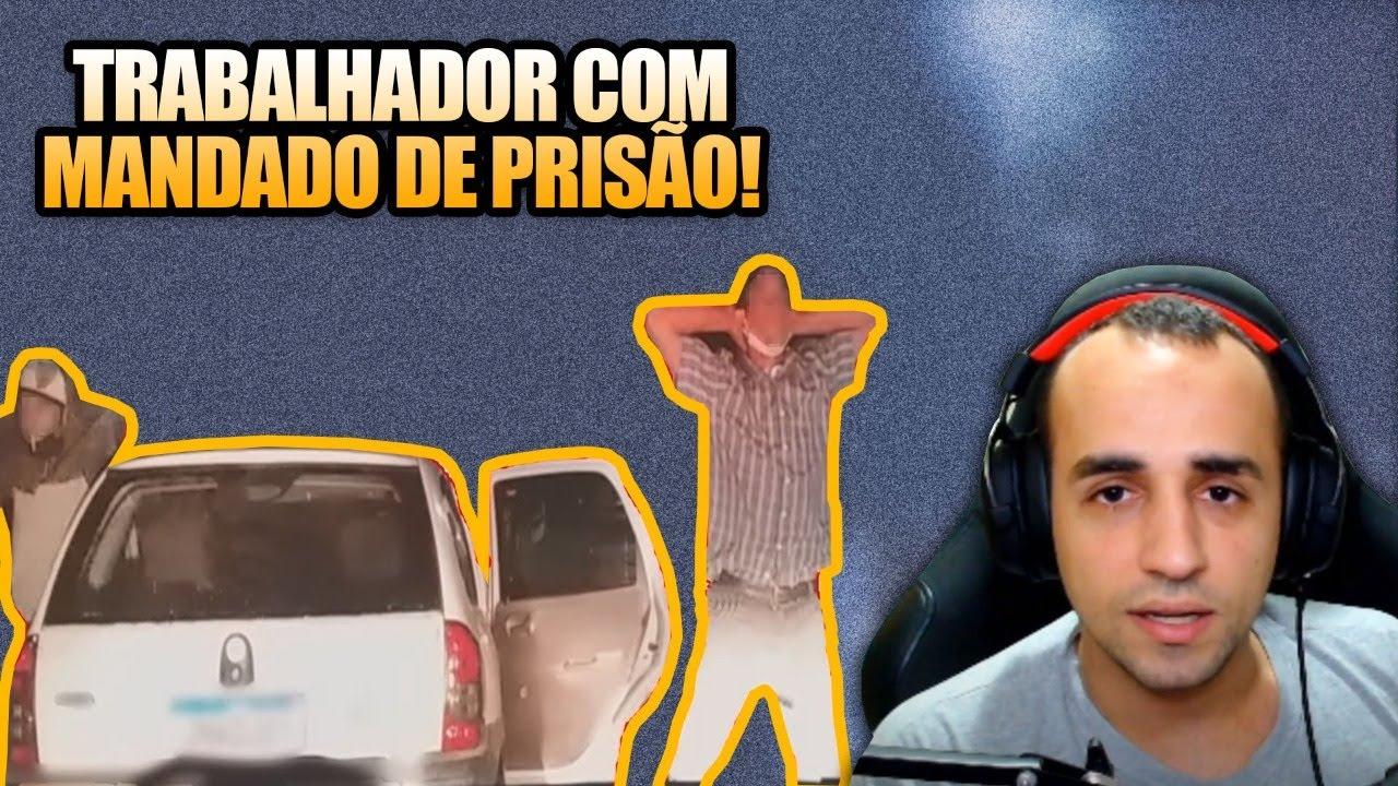Reagindo a TRABALHADOR COM MANDADO DE PRISÃO por Patrulheiros Curitiba Norte