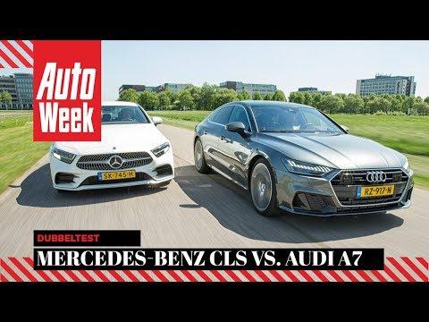 Audi A7 vs. Mercedes-Benz CLS - AutoWeek dubbeltest - English subtitles