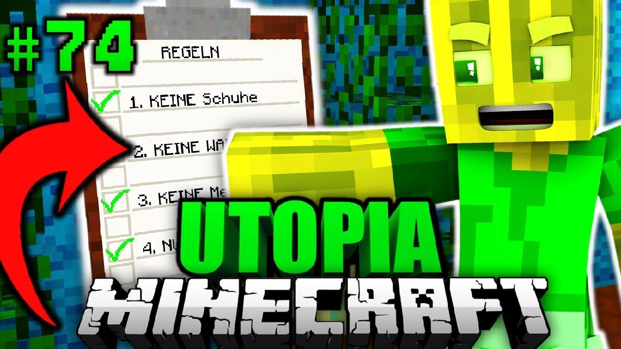 Die GEHEIME NACHRICHT Minecraft Utopia DeutschHD YouTube - Minecraft geheime hauser