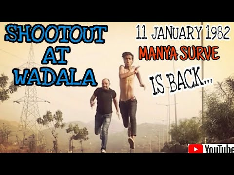 Shootout at Wadala movie action scene hd |Manya - saved Munir|mewadi dude