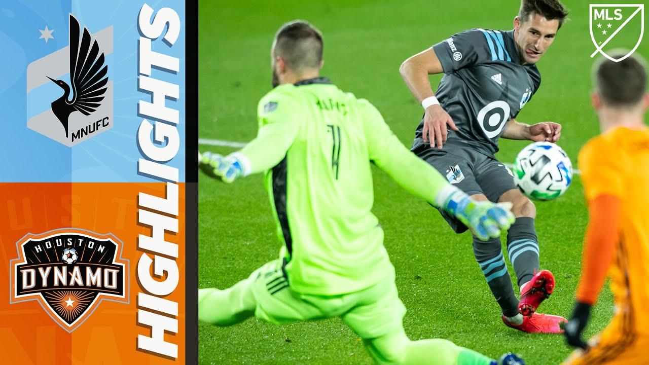 Minnesota United FC vs. Houston Dynamo   MLS Highlights   October 18, 2020