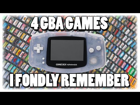 4 GBA Games I Fondly Remember