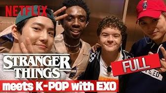 Stranger Tour / 기묘한 케이팝 with EXO | EXO X Stranger Things 3