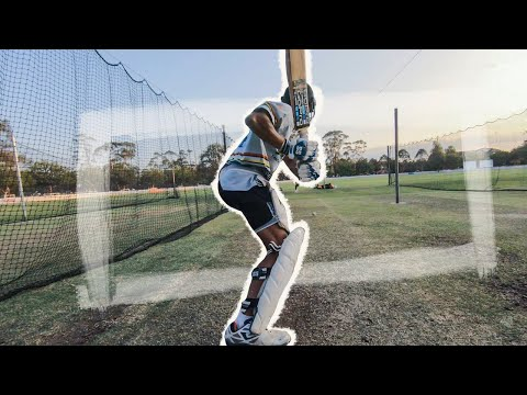 Late Afternoon Batting Session, Turf Nets ||P'sCTV19|| (Ep29)
