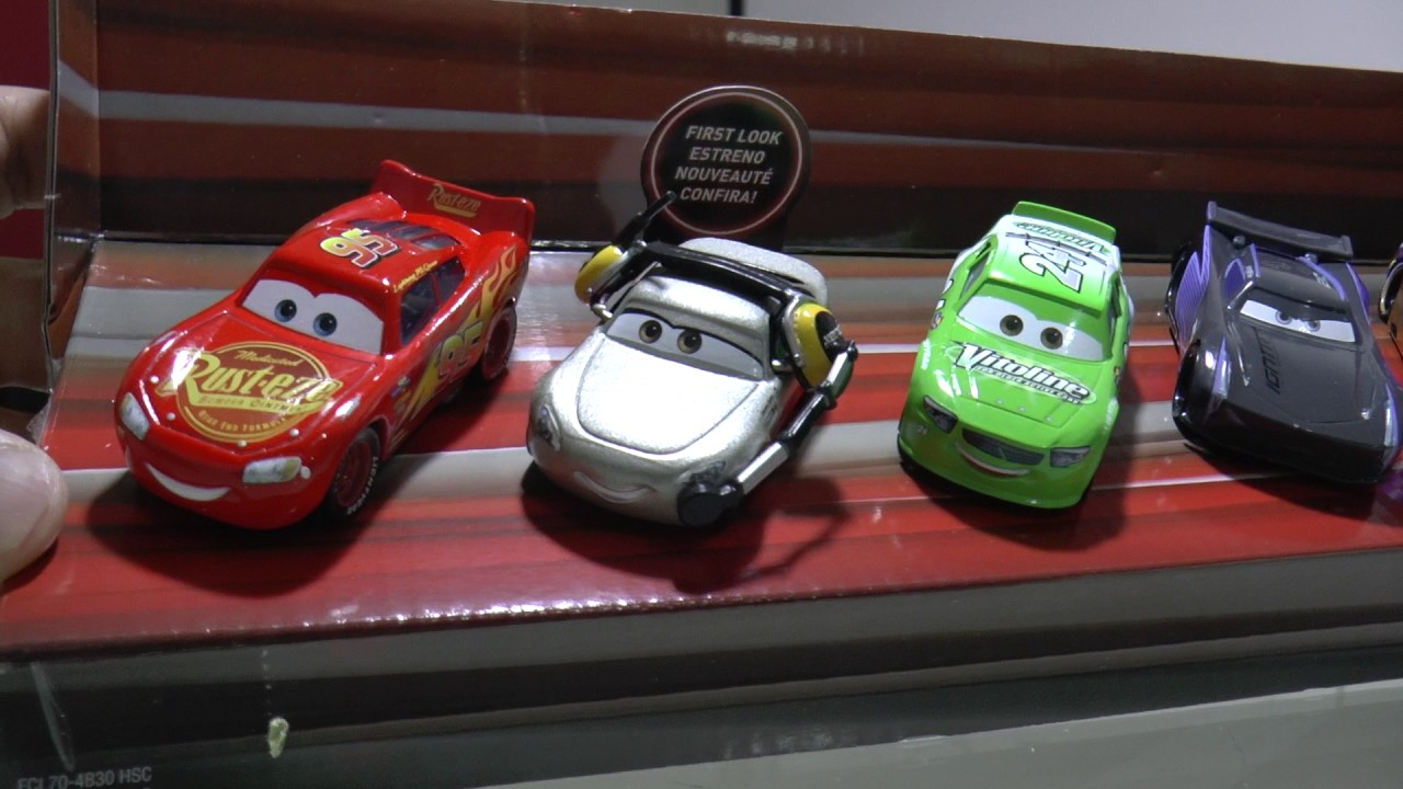 Mattel disney pixar cars 3 piston cup racers cars 1 to cars 3 visual - Unboxing Cars3 Piston Cup Race 5 Pack Veh Culos De Mattel Pixar Disney