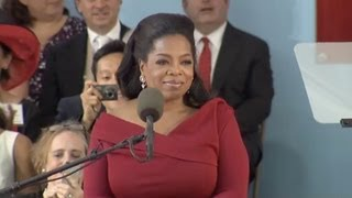 Oprah Winfrey Harvard Commencement speech | Harvard Commencement 2013 thumbnail