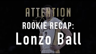Lonzo Ball's Rookie Season: A Full Breakdown