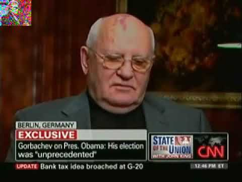Mikhail Gorbachev On 20th Anniversary Of Fall Of Berlin Wall