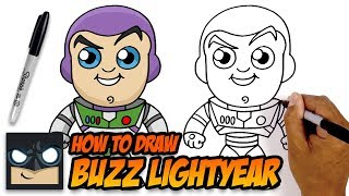 Gambar cover HOW TO DRAW BUZZ LIGHTYEAR | TOY STORY