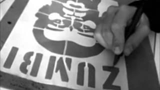 Graffiti Stencil - Arte para todos - Grafite Cidadão - Viva o povo Brasileiro!