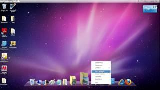 How to make Windows7 look like Mac OS X Snow leopard