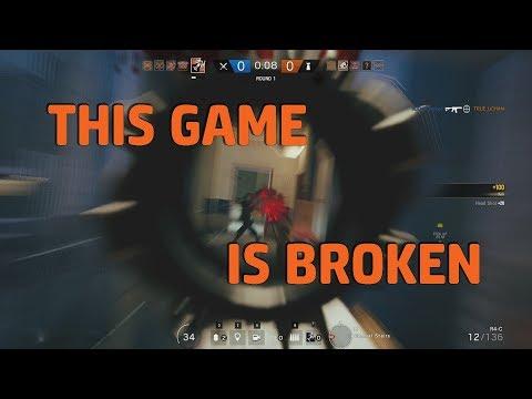 This Game's Broken - Rainbow Six Siege + FC5