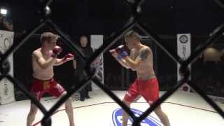 """Caged Aggression XI """"The Uprising""""  Fight 12. Zack Micklewright vs Ted Worthington"""