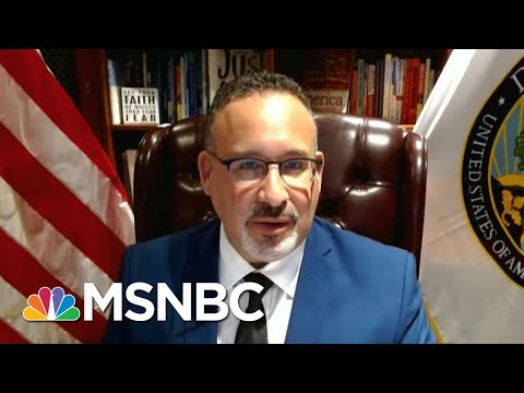 Secretary Of Education On Push To Reopen Schools 'This Spring' | All In | MSNBC