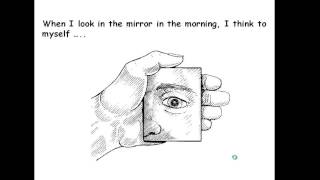 What do you see in the mirror?