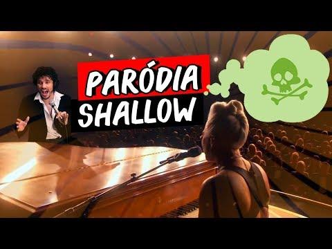 PEIDO FROUXO ♫  Paródia Lady Gaga Bradley Cooper - Shallow A Star Is Born   ReiDasParódias