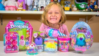 NEW Mystery Toys & Surprise Eggs Opening with Chloe | Toys for Girls by Kinder Playtime