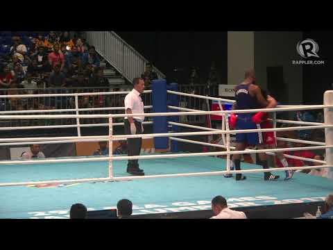 SEA Games 2017: Highlights of PH boxer John Marvin vs Cambodia's Felix Martinez