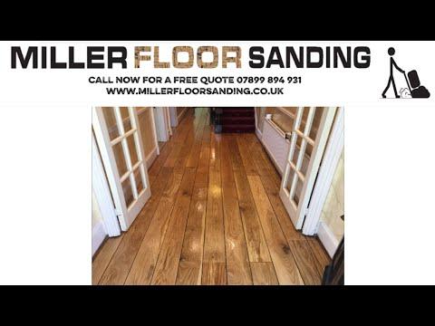 Floor Sanding Manchester- Job Timelapse - Hallway