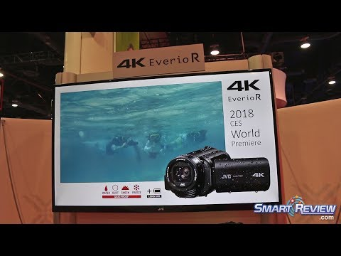 CES 2018   JVC Quad-Proof 4K Camcorder   Everio GZ-RY980   Waterproof, Shock, Dust & Freeze Proof