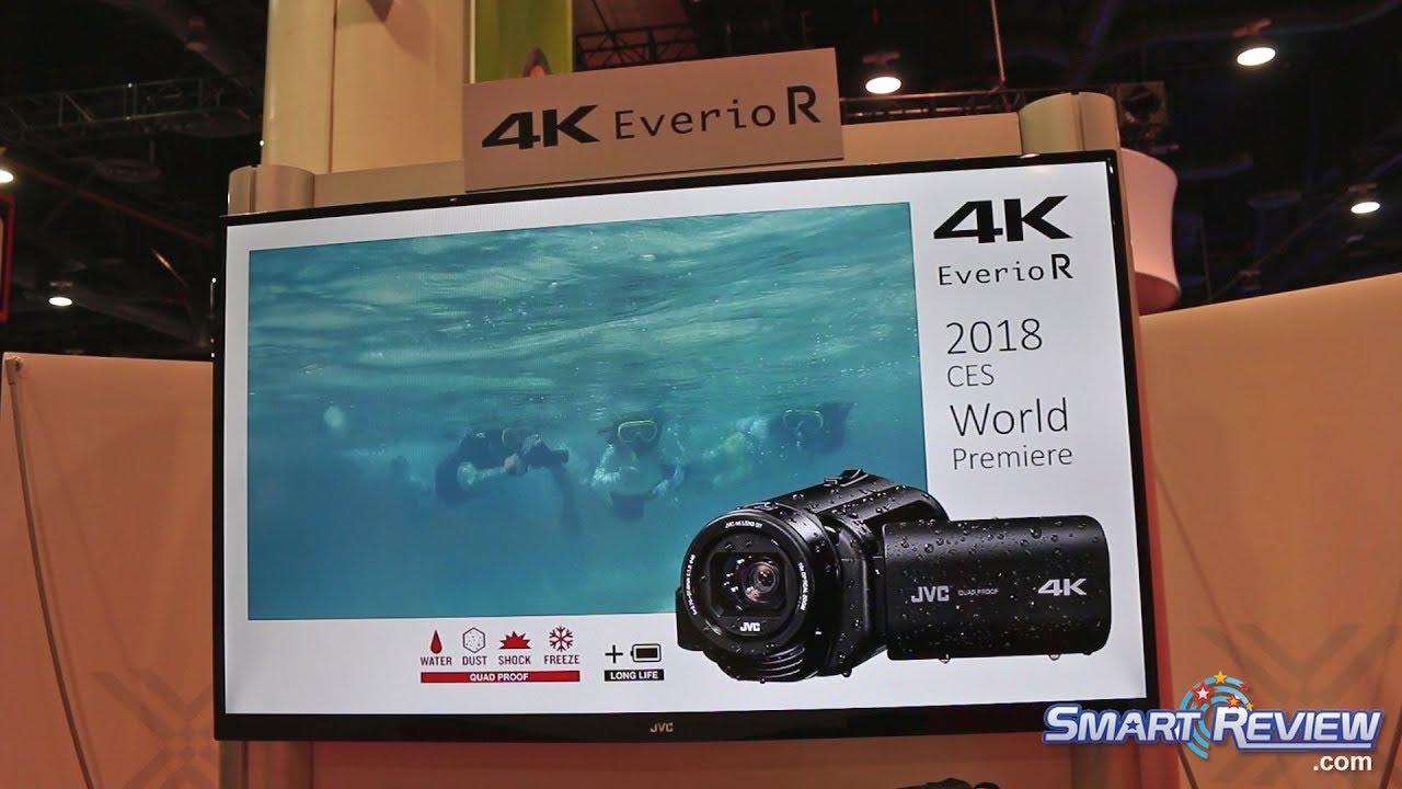 Ces 2018 Jvc Quad Proof 4k Camcorder
