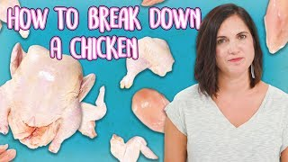How to Break Down a Whole Chicken | Food 101 | Well Done