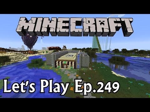 Minecraft Let's Play Ep. 249- Villager Madness