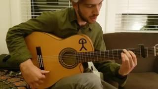 Alzapua Flamenco Guitar Lesson - Remate to finish Soleá