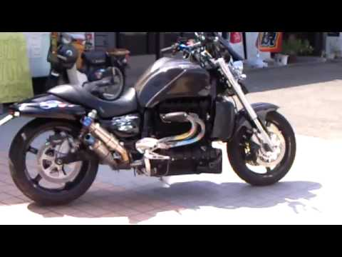 triumph rocket 3 rocketⅢ motorcycle 2,300cc - youtube
