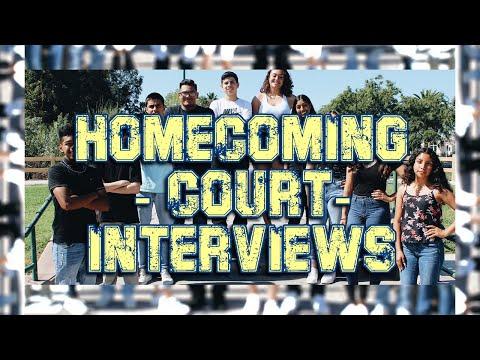 Homecoming Court Interviews 19-20 (Channel Islands High School)