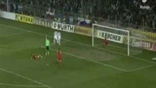 Cesko - Slovensko 1:2 (1.4.2009) slovenske goly