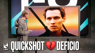 Quickshot misses Deficio 💔 | #LEC #ReadyCheck
