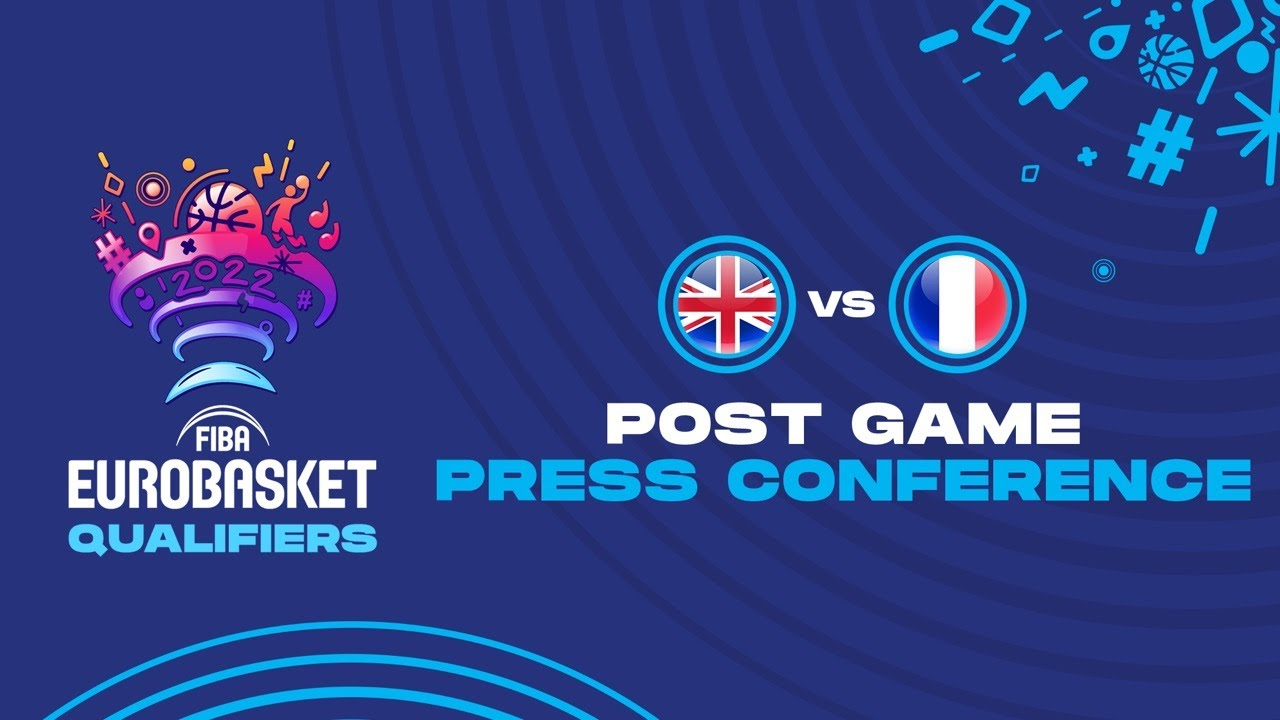 Great Britain v France - Press Conference